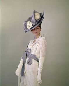 Cecil Beaton hat from the Ascot scene in My Fair Lady. Whole film is sumptuously wonderful but the hats from this scene are some of the most amazing ever found on film.
