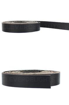 "5oz Premium Cowhide Strip 3//8/"" x 84/"" Genuine Leather Strap Brown"