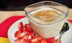 Pudim de quinoa