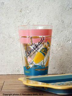 Verre à limonade (Réf.3), déco vintage, Natives