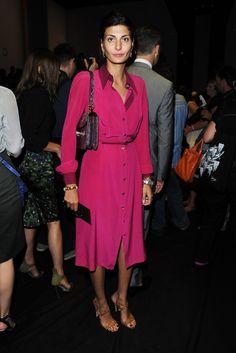 Giovanna Battaglia at Gucci Spring 2012 RTW