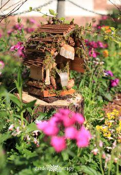 How To Make A Foraged Fairy House