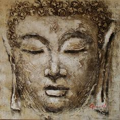 picture for living room Picture - More Detailed Picture about Budas Buddha painting Zen Buddha Canvas Wall Art Modern Abstract Hand Painted cuadros decoracion Wall pictures for living room Picture in Painting & Calligraphy from Eazilife Oil Painting Gautama Buddha, Buddha Buddhism, Buddha Face, Buddha Zen, Buddha Kunst, Buddha Canvas, Buddha Painting, Buddha Artwork, Art Asiatique