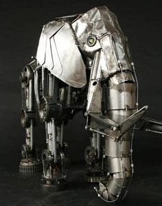 MUST SEE: 20 Breathtaking Sculptures Made from Old Car Parts. You won't believe your eyes