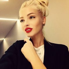 me❞ ❣ Alena Shishkova ❣ Beauty Make-up, Beauty Hacks, Hair Beauty, Makeup Is Life, Makeup Looks, Lipstick Style, Alena Shishkova, The Perfect Girl, Black Barbie
