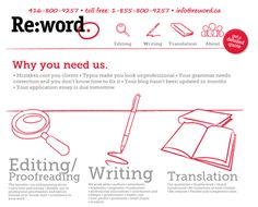 Reword Web design done by Fusion Studios Inc. Editing Writing, Typo, Studios, Web Design, Make It Yourself, Words, Quotes, How To Make, Blog