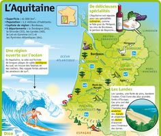 Learn French the Easy Way Ap French, French Words, French Teaching Resources, Teaching French, How To Speak French, Learn French, Aquitaine, France Geography, Etiquette And Manners