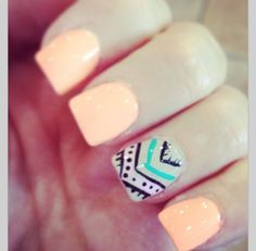 #nails #tribal