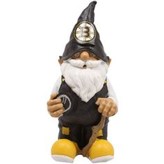 Boston Bruins NHL Garden Gnome