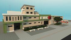 minecraft fire station - Google Search