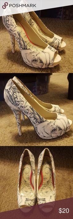 GUC Iron Fist Heels 9 GUC Iron Fist Heels women's 9. Iron Fist Shoes Heels