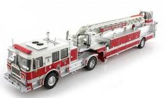 TWH Collectibles Seagrave Redwood City Fire Dept. CA Engine #9