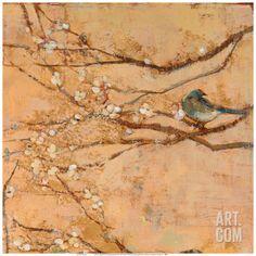 Birds and Blossoms I Print by Jill Barton at Art.com