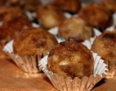 "Paula Wolfert's Moroccan Dessert ""Truffles"" with Dates, Almonds, and Apples"