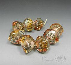 Artisan HANDMADE LAMPWORK artisan Glass Beads Donna Millard