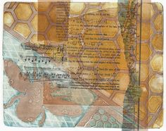 Printing with Gell Arts®: Gelli Printing Faux Chine Collé