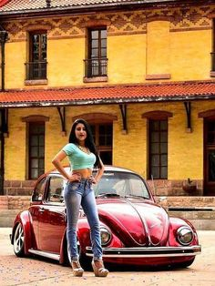 Classic Car News Pics And Videos From Around The World Vespa, Vw Fox, Kdf Wagen, Hot Vw, Bus Girl, Vw Classic, Beetle Car, Ferdinand Porsche, Vans Girls