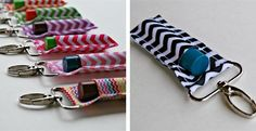 Clip-On Lip Balm Holders – New Patterns and Designs!
