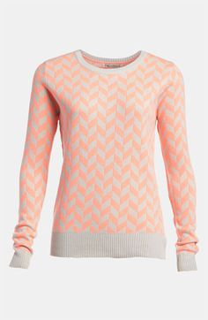 lucca couture zigzag sweater