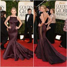 Taylor Swift de mulherão com decote e estilo sereia. Foto/Moda em Pauta