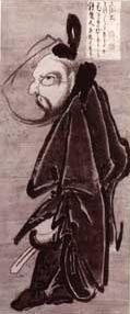 Hakuin Ekaku (1686-1769), Standing Shoki