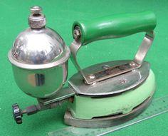 Green Coleman Gas Iron