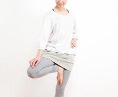 [Kyoto]バルーンショートスカート - Yin Yang ヨガウェアオンラインショップ