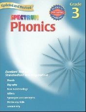 Spectrum Phonics and Word Study Gr. 3
