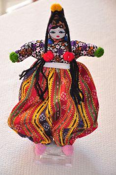 Armenian Doll Handmade Ethnic Tribal Russian Afghanistan