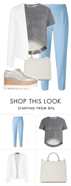 """""""Sin título #157"""" by herllequin ❤ liked on Polyvore featuring Agnona, BCBGMAXAZRIA, Topshop, Dolce&Gabbana and STELLA McCARTNEY"""