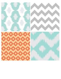 free printable patterns, note cards, banners, labels, etc from oh so lovely