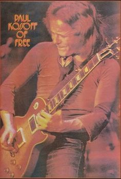 Paul Kossoff, lead guitarist in Free. Some would say he had the best vibrato of all-time. He was definitely one of the most influential and unique players in all of blues-rock/rock n' roll.