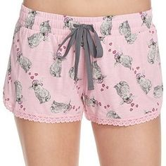 These pink bunny boxer shorts. | 25 Insanely Cute Products For People Who Are Obsessed With Bunnies