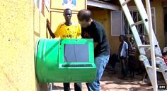 UNICEF Upcycles Oil Drums into Solar-Powered Digital Kiosks for Uganda | Inhabitat - Sustainable Design Innovation, Eco Architecture, Green ...