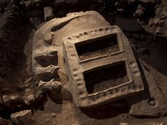 """The so-called """"portal"""" uncovered at Gobekli Tepe..."""