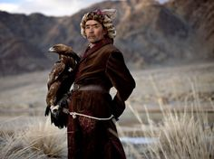 Kazakh Eagle Hunter, Mongolia | (Shot by Christo Geoghegan)