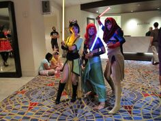 Remember all that excellent Disney Princesses as Jedi art? Here's some cosplay based on it!