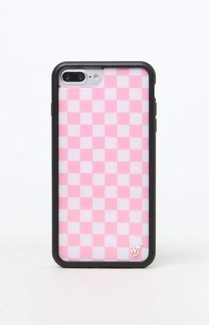 Protecting your phone is a breeze with the ultra-modern Pink Checkers Plus iPhone Case by Wildflower. This durable phone case features a protective outer shell, black rubber bumper, and WF emblem. Cute Cases, Cute Phone Cases, Iphone Phone Cases, Iphone 7 Plus Cases, New Iphone, Iphone Charger, Pink Phone Cases, Tumblr Phone Case, Diy Phone Case