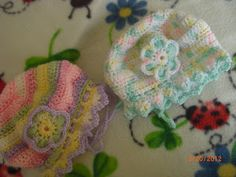 Free Crochet Pattern:  Preemie Hat Project: Tam Bonnet for preemie