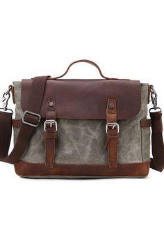 Urban Bags, Messenger Bag, Satchel, Laptop, Cots, Green, Laptops, Crossbody Bag, Backpacking