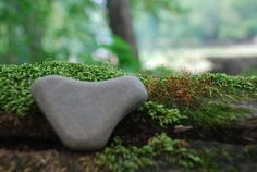 lovely heart stone by earthcrums on Etsy, $4.00
