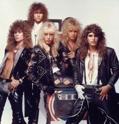 Warrant- This band had such a GREAT sound & fun songs like 'Blind Faith' and 'Cherry Pie'
