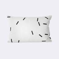 Black Mini Stick Cushion Ferm Living