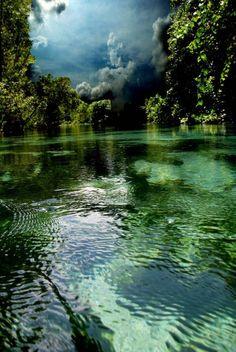 Weekie Wachee River in Florida (Creidt: Weekie Sky Photograph - Weekie Sky Fine Art Print - AR Annahita)