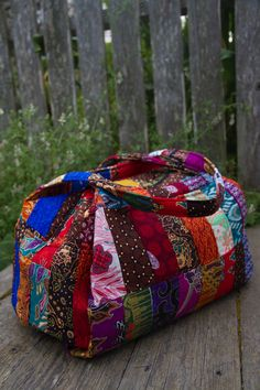 Budapest Patchwork Duffle