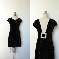 Vintage 1960s Black Velvet Estevez Cocktail Dress Vintage Dresses 1960s, Vintage Clothing, Vintage Outfits, Vintage Fashion, 60s Inspired Fashion, Rhinestone Dress, Vintage Love, Black Velvet, Cocktail