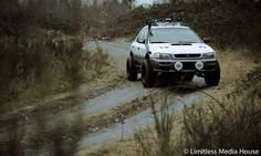Lifted Subaru Impreza wagon