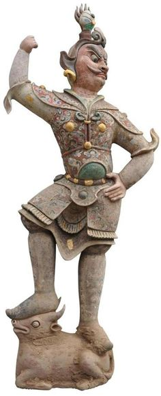 """This Tang dynasty earthen-ware figure is from """"Unearth-ed,"""" one of three China-centric exhibits at the Clark Art Institute."""