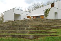 La Maison Louis Carré - Backyard | Flickr - Photo Sharing!