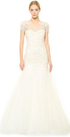 Marchesa Re-Embroidered Lace Gown https://api.shopstyle.com/action/apiVisitRetailer?id=451882355&pid=uid2500-37484350-28